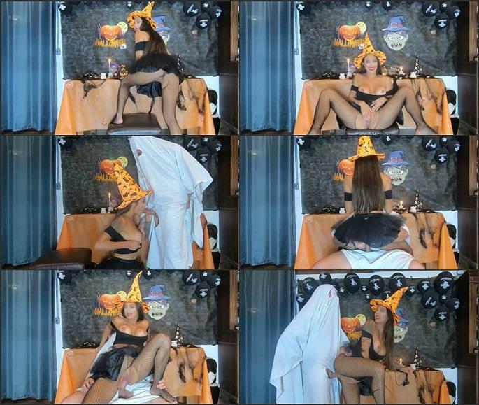 Ana Rothbard - Ghost fucking the naughty Witch FullHD 1080p