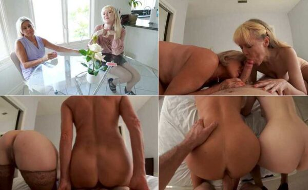 Grandma's Friend Fuck Me with My Grandmommy - Payton Hall & Jamie Foster HD 720p