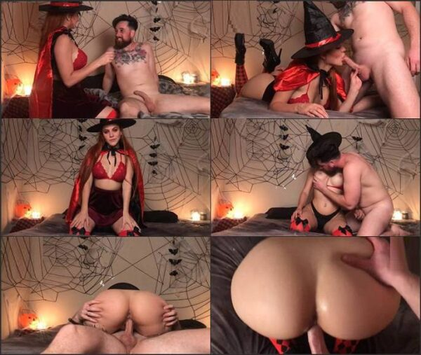 Anny Ward - slut witch woke up a corpse to fuck and creampie her twice FullHD 1080p
