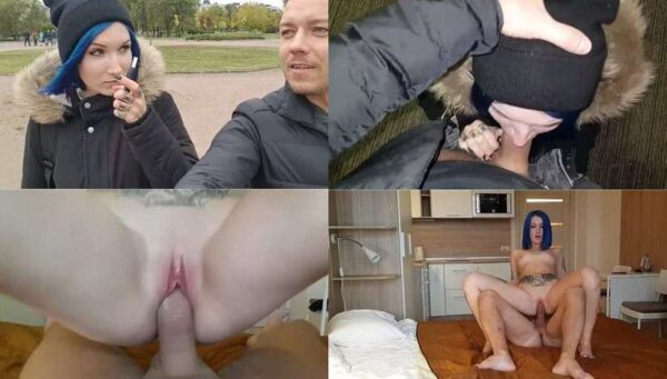 Russian Family NickRockXxX - Met a Sister after school and Fucked her in a Hotel HD 720p
