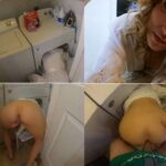 My Step Mom Gets Stuck In The Dryer – Mrs Nelson 4k 2160p