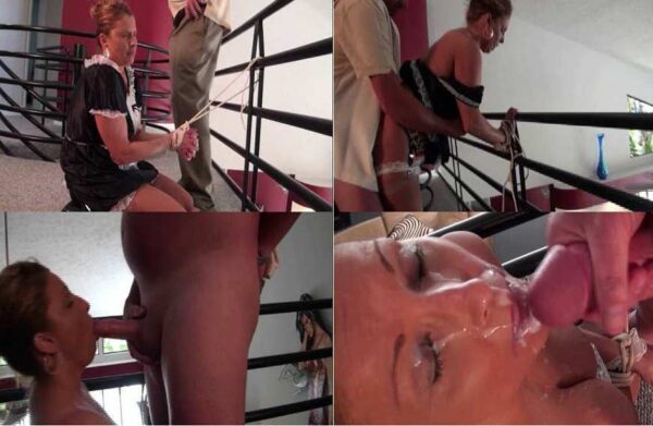 Classic Indentured Servitude - Rachel Steele Bound and Gagged SD mp4