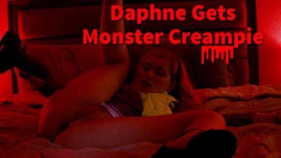 Aliens & Monsters Jaybbgirl - Daphne Gets Monster Creampie FullHD 1080p