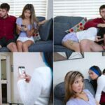 Home Alone With Step Brother – Clara Trinity & Paisley Paige HD 720p