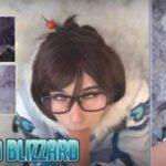 Game Parody pitykitty – Melted Blizzard Mei Overwatch FullHD 1080p